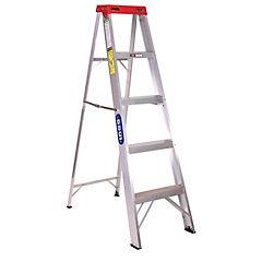 Escalera tijera aluminio 5¿ domestica