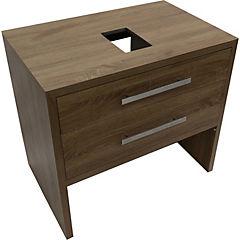 Mueble tender 80x52x85 cm dark pine sin lavamanos