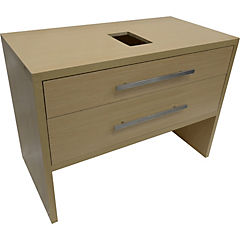 Mueble tender 100x52x85 cm light oak sin lavamanos