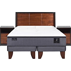 Cama europea king + muebles vasa