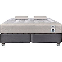 Box spring king + 2 almohadas