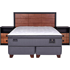 Box spring king + muebles vasa
