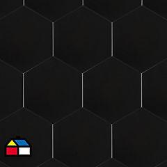 Cerámica 20x23 negro mate 1 m2