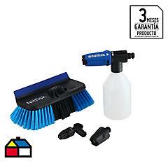 Kit limpieza automoviles 4 piezas