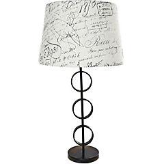 Lámpara de mesa anillos E27 40w