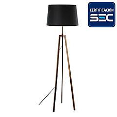 Lámpara de pie treo cobre 2 luces E27 40W