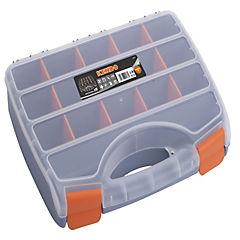 Organizador  plástico cm 21 compartimientos