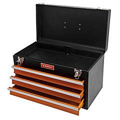 Caja de herramienta metálica tipo estante 3 bandejas