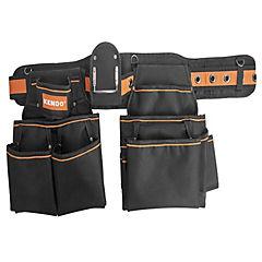 Cinturón porta herramientas 20 compartimentos