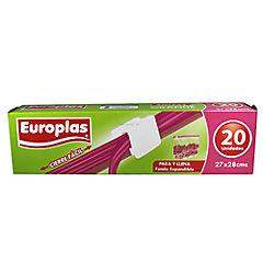 Bolsa hermetica europlas cierre facil 27x28 cm