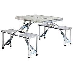 Mesa picnic aluminio