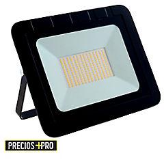 Reflector 100 W luz calida negro