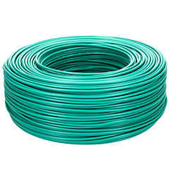 Cable riego 18 awg verde rollo 200m