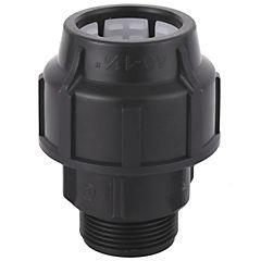 Conector he 40mm-1,1/4polipropileno