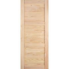 Puerta amadeuss 3 tableros natural 200x95