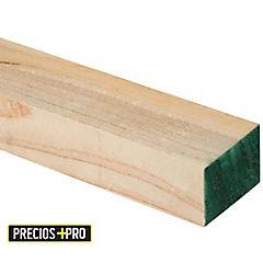 2x3''x3,2 m Pino dimensionado verde