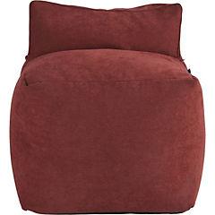 Sofá 63x53x63 cm rojo