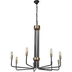 Lámpara colgante Sitges 8 luces E14 40W