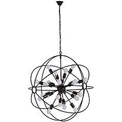 Lámpara colgante Figueres 24 luces E27 40W