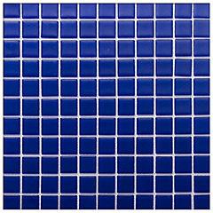 Mosaico 30x30 cm azul rey