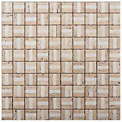 Malla mosaico 30x30 cm beig claro
