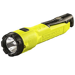 Linterna LED a pilas 3AA - Amarillo
