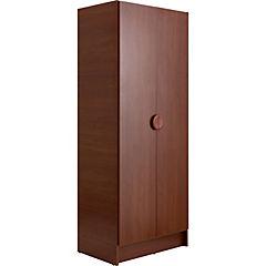 Closet 2 puertas 69x45x172 cm Cerezo