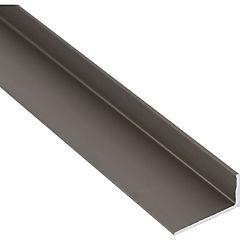 Ángulo Aluminio 20x10x1,3 mm Titanio  6 m