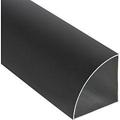 Esquinero Aluminio 66x66x1 mm Bronce  3 m