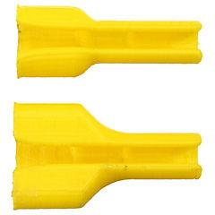 Refuerzo cable iphone 3d amarillo