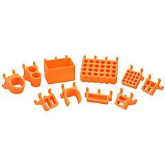 Set organizadores de herramientas 3D naranja