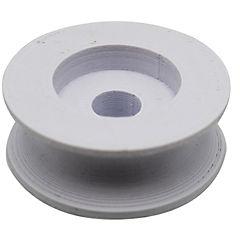 Rueda bandeja lavavajillas 3,5 cm 3d blanca