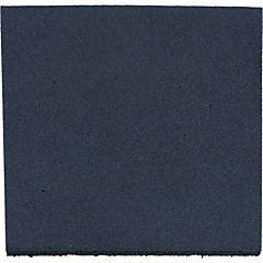 Palmeta caucho 50x50x2.5 cm gris