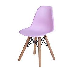 Set de 2 sillas kids rosado 36x30x32 cm