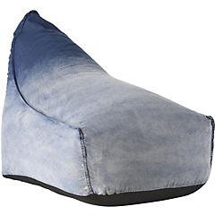Sillón pouf 90x80x110 cm jeans