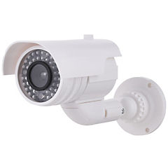 Cámara de seguridad falsa con luz intermitente