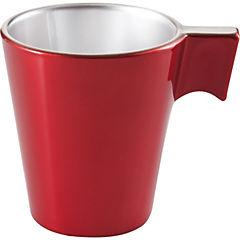 Taza expresso rojo 80 ml