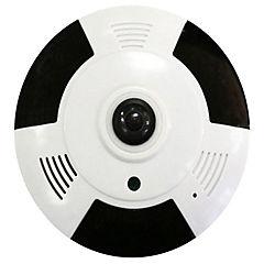 Cámara visión 360 HD con grabación de audio y wifi