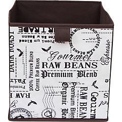 Caja plegable leter 27x27x28 cm