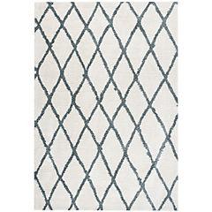 Alfombra jacinta 160x230 cm aqua-cotton