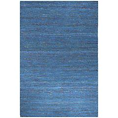 Alfombra Kelim sari 70x240 cm turquesa