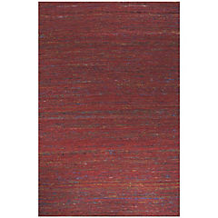 Alfombra Kelim sari 80x120 cm rojo