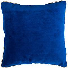 Cojín Azul ribetes 60x60 cm