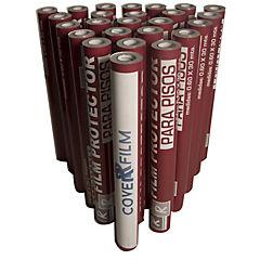 Film adhesivo protector para pisos y cerámicas pack 25 rollos