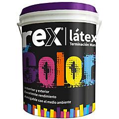 Pintura latex 1 gl ocre