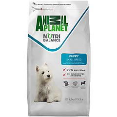 Alimento seco para perro cachorro raza pequeña 2,5 kg