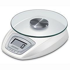 Balanza de cocina digital con plato