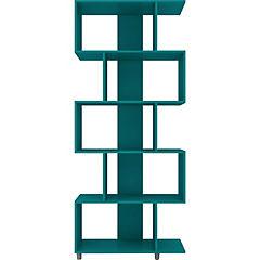 Estante 5 repisas 31x78,5x184 cm turquesa
