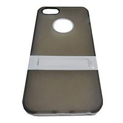 Carcasa con soporte iPhone 5 y 5s gris