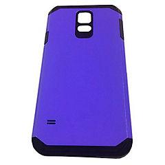Carcasa metalizada Samsung Galaxy s5 morado